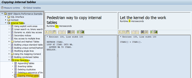 declare field symbols at runtime in abap