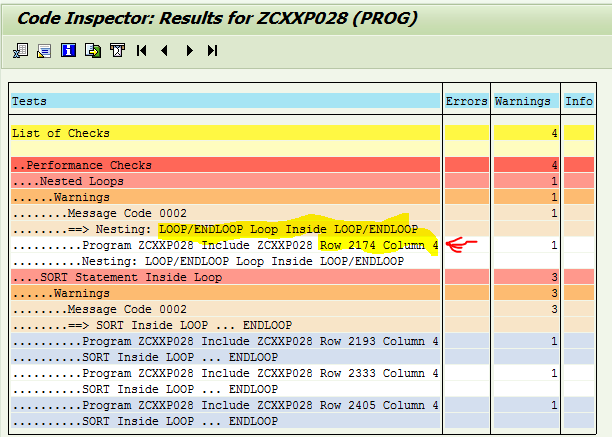 how to run sap code inspector to do static abap performance check rh sap perf ca Credit Memo SAP Codes All SAP T Codes